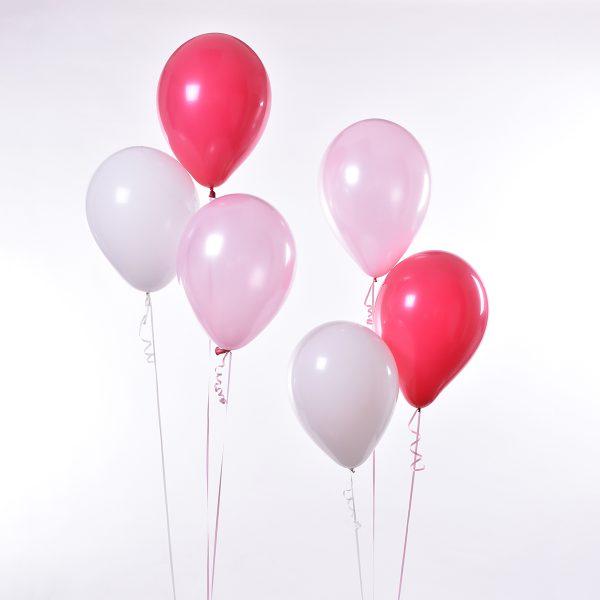 Triple Soft Pink Deep Pink