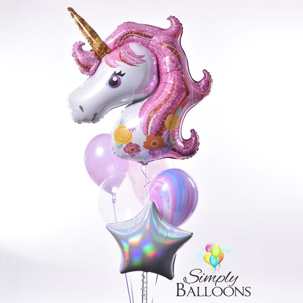 Unicorn Balloon Bouquet Style One